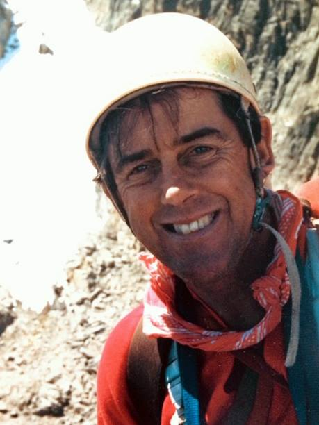 Ian Howell on Mt Kenya; by Terry Burke (June 20th 1987)